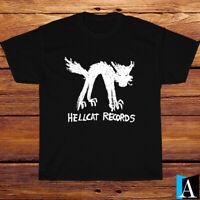New Shirt Hellcat Records Artists Label Logo Black/White/Grey/Navy T-Shirt S-3XL