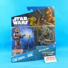 Special Ops Clone Trooper & Geonosian Drone 2-Pack Star Wars Clone Wars Hasbro