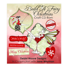 Debbi Moore Build A Fairy Christmas Craft CD ROM (324408)