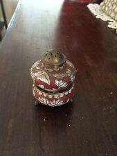 Rare Antique Cloisenne Salt And Pepper