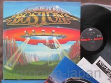 BOSTON Don't Look Back JAPAN MASTER SOUND LP w/INSERT 30.3P-272 Audiophile FreeS