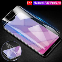 5D Full Cover Screen Protector For Huawei P20 Pro Lite Clear Front Rear Film