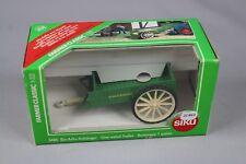 ZC463 Siku 3485 Miniature Agricole Tracteur 1/32 Remorque 1 Essieu Amazone