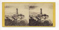 Ca. 1860's STEREOVIEW: NIAGARA: TERRAPIN TOWER & HORSE SHOE FALL, E. ANTHONY