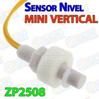 MINI Sensor nivel liquido ZP2508 vertical interruptor flotador piscina acuario -