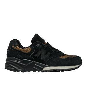 New Balance Wl999 PW WL999PW Fashion Shoes - Black and Gold WL999PW