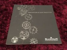 Blancpain Watch Catalogue 2016 - English