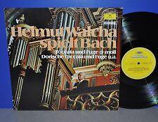 Helmut Walcha spielt Bach Orgelwerke D Deutsche Grammophon M- Vinyl LP as new