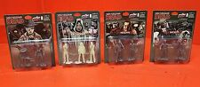 Lot of (4) Skybound Exclusive The Walking Dead Action Figurines w/ GLOW Michonne