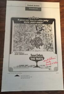 1968 Original THE PARTY Movie Pressbook