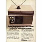 1968 Gibson Air Conditioner: Fresh Air Waves Vintage Print Ad photo