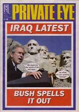 PRIVATE EYE 1061 - 23 Aug - 5 Sep 2002 - George W BUSH SPELLS IT OUT