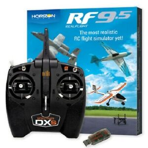 Horizon Realflight 9.5 Flight Simulator Software & Spektrum DSX & Dongle #1202C