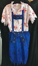 Zombie Bavarian costume - mens large - Smiffys 40082 - NIP