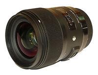 Sigma 35mm f/1.4 DG HSM Art Lens for Canon DSLR Cameras BRAND NEW