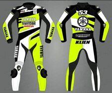 Yamaha Customized Suit Leather Biker Motorcycle Motorbike Racing MotoGP 1 & 2 PC