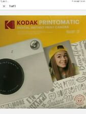 Kodak PRINTOMATIC Digital Instant Print Camera Gray