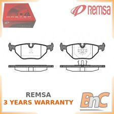 REAR DISC BRAKE PAD SET BMW REMSA OEM 34211158221 026500