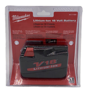 Milwaukee 48-11-1830 model V18 3.0 Lithium-Ion Battery for older impact & tools