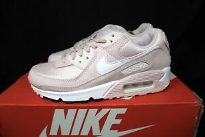 Sz 6 Women's Nike Air Max 90 Barely Rose Pink White Valentine's Day CZ6221-600
