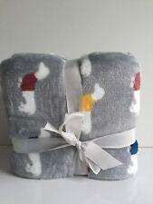 NEW SUPER SOFT SAUSAGE DOG DACHSHUND print Throw blanket travel