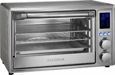 1800W 6-Slice Toaster Oven Air Fryer - Stainless