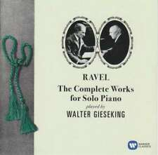 Walter Gieseking - Ravel: The Complete Works For NEW CD