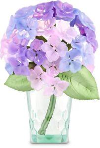 Bath Body Works Purple HYDRANGEA Wallflower Plug n Diffuser Floral Bouquet Light