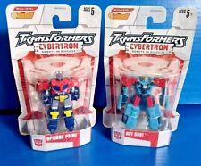 "TransFormers Cybertron Hot Shot Optimus Prime Legends 3"" G1 Lot Series 1 TLK MOC"