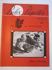 1952 BOLEX REPORTER MAGAZINE - CHRISTMAS EDITION - SEE PICS - TUB QQQ