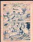 WWI Caricature Guerre Poilus Tranchées/ Léon Bourgeois à Noyon 1917 ILLUSTRATION