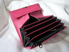 Kellnerbörse pink, Kellnerbörsen, Zahlbörse, Rindleder in super Qualität!