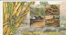 Sri Lanka postfris 1997 MNH block 67 - Reptielen / Reptiles (X143)