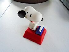 Peanuts Snoopy Famous Author Cool Joe Stamper McDonald's Toy 2018