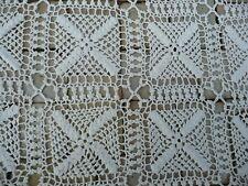 tapis de table ancien  dessus de meuble fait main