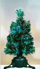 Christmas Xmas Tree Battery Operated Changing Colour Effect LED Fibre Optic 45cm