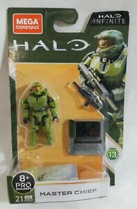 Mega Construx MASTER CHIEF Halo Infinite Series 13 Mini Figure New 21 pc Toy