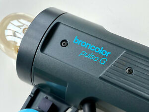 BRONCOLOR PULSO G 3200J Studio Flash Head - Very Clean & UPGRADED by BRONCOLOR
