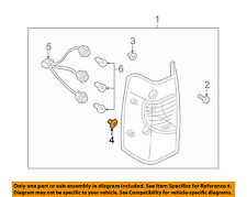 NISSAN OEM 00-04 Xterra Taillight Tail Light Lamp Rear-Grommet 012810004U