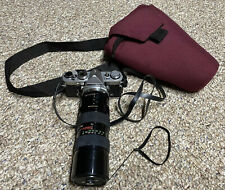 Olympus OM-1 35mm SLR Film Camera w/ zuiko 50mm f/1.8 Lens Kit With Bag Free Shi