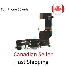 New iPhone 5S Audio Dock Connector Charging USB Data Port Flex Cable Black