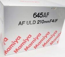 Mamiya 645 AFD III / AFD II / AFD / AF 210mm f4 ULD IF  Neu   inkl. 19% VAT