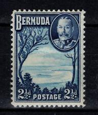 Bermuda 1936 King George V 2½d SG102 Mint MH