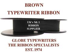 OLIVETTI LETTERA 32 *BROWN* TOP QUALITY TYPEWRITER RIBBON REWIND+INSTRUCTIONS*