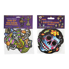 Beistle Jointed Day of The Dead Skeletons with Beistle Day of The Dead Cutouts