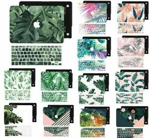 Tropical Plants Rubberized Cut Out Hard Case Skin Cover For New Macbook Pro Air