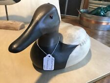 hand carved wooden duck decoys