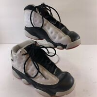 Nike Air Jordan Unisex Kids Retro Athletic Sneakers White Lace Up 13 C EUR 31