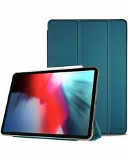 iPad Pro 12.9 Case Ultra Slim Trifold Stand Smart Translucent Frosted Back Cover