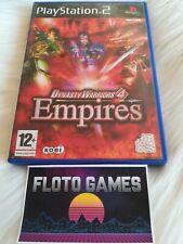 Jeu Dynasty Warriors 4 Empires pour Playstation 2 PS2 Complet CIB - Floto Games